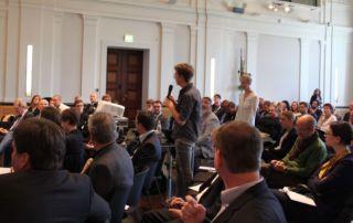 Fragen aus dem Publikum (Foto: Staatskanzlei)