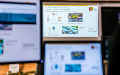 Computerbildschirme zeigen eine Gesundheitsapp