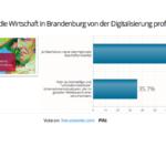 Live-Abstimmung Podiumsdiskussion Wirtschaft und Arbeit 4.0 (Bild: Staatskanzlei)