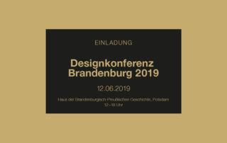 Logo Designkonferenz Brandenburg 2019