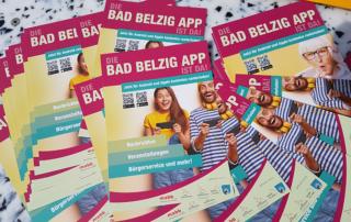 Flyer der Bad Belzig App (Bild: Staatskanzlei)