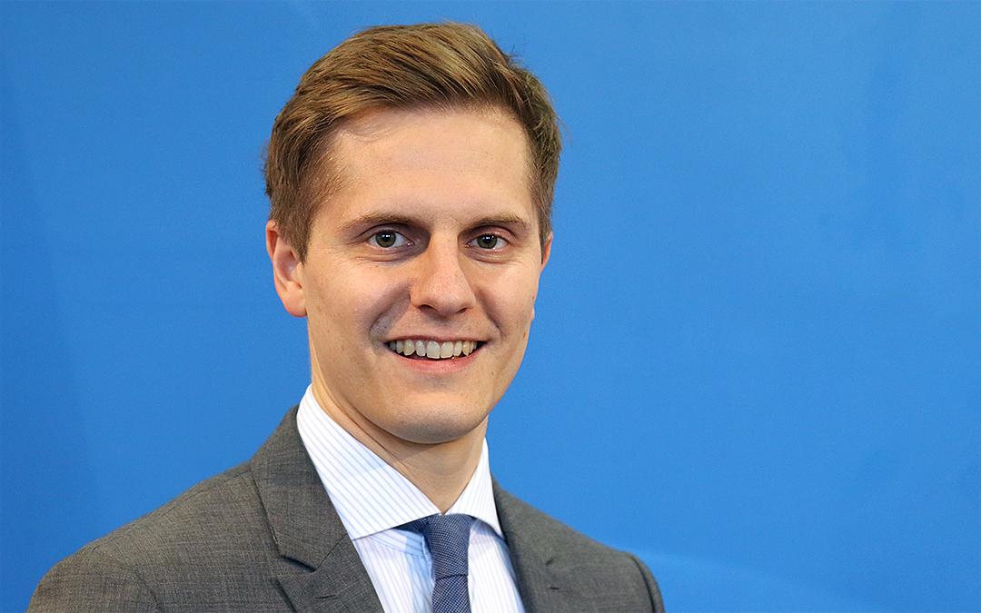 Dr. Benjamin Grimm, Staatssekretär und Beauftragter für Medien und Digitalisierung