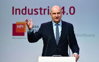 Ministerpräsident Dr. Dietmar Woidke am Pult