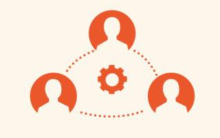 Symbolgrafik Transferplattform für Unternehmen www.cluster-helfen-unternehmen.de