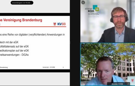 Holger Rostek präsentiert die Digitale Praxis