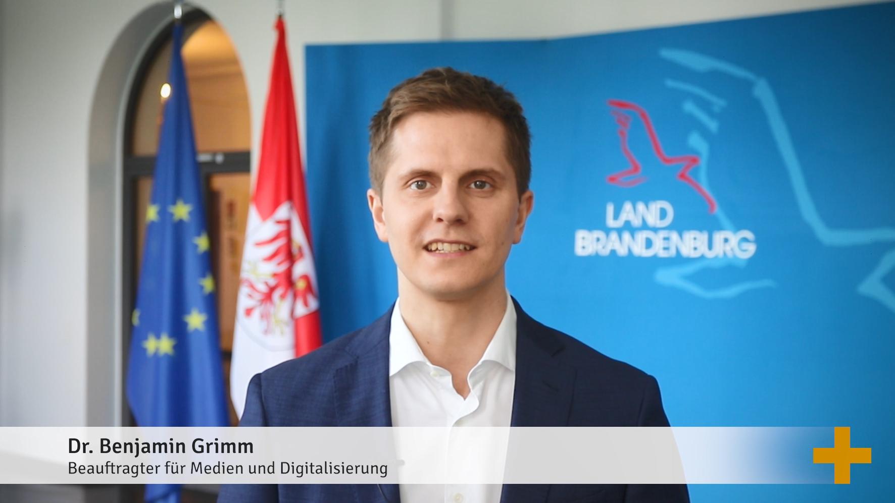 Staatssekretär Grimm eröffnet die Dialogveranstaltung der Staatskanzlei
